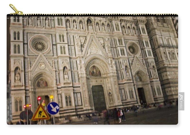 Travel Carry-all Pouch featuring the photograph The Basilica Di Santa Maria Del Fiore by Jason O Watson