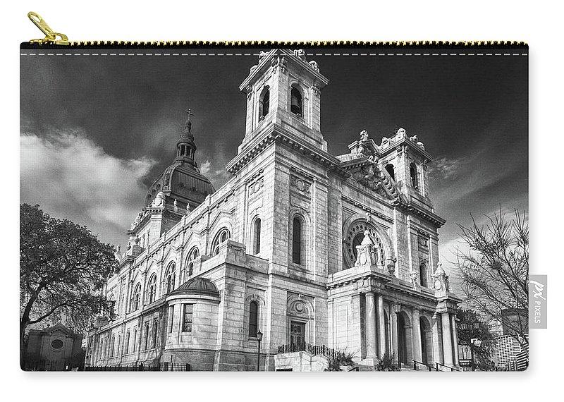 Buildings Carry-all Pouch featuring the photograph The Basilica Of St Mary by Guy Whiteley