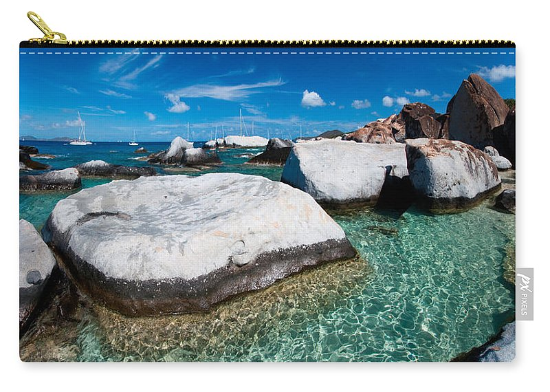 3scape Carry-all Pouch featuring the photograph The Baths by Adam Romanowicz