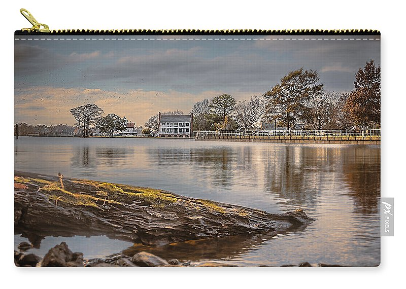 1782 Barker House Carry-all Pouch featuring the photograph The Bay by Chris Modlin