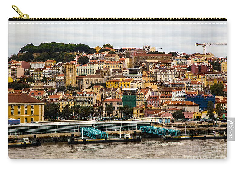 Lisbon Carry-all Pouch featuring the photograph The Beautiful Colors Of Lisbon by Rene Triay Photography