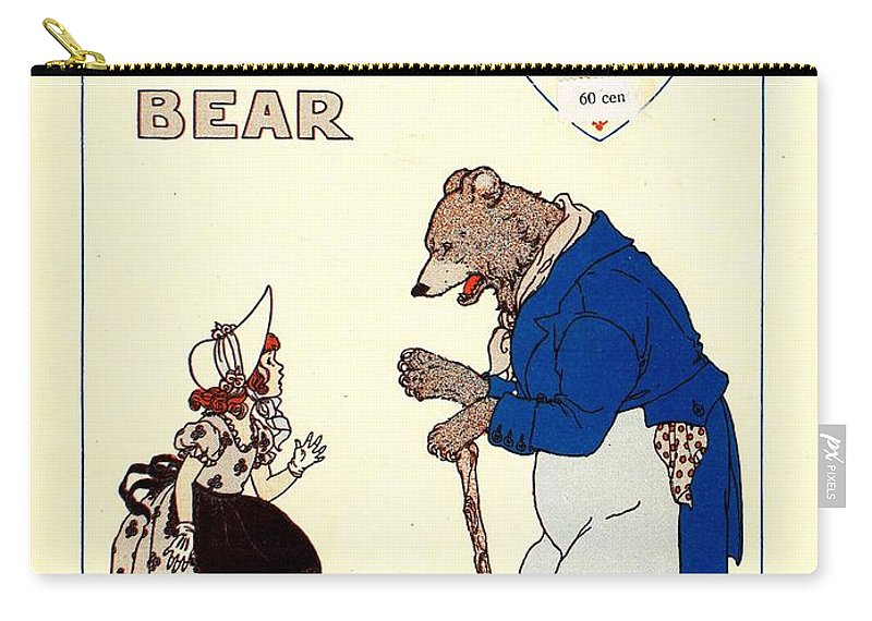 Nostalgia Carry-all Pouch featuring the photograph The Big Brown Bear by Mel Thompson