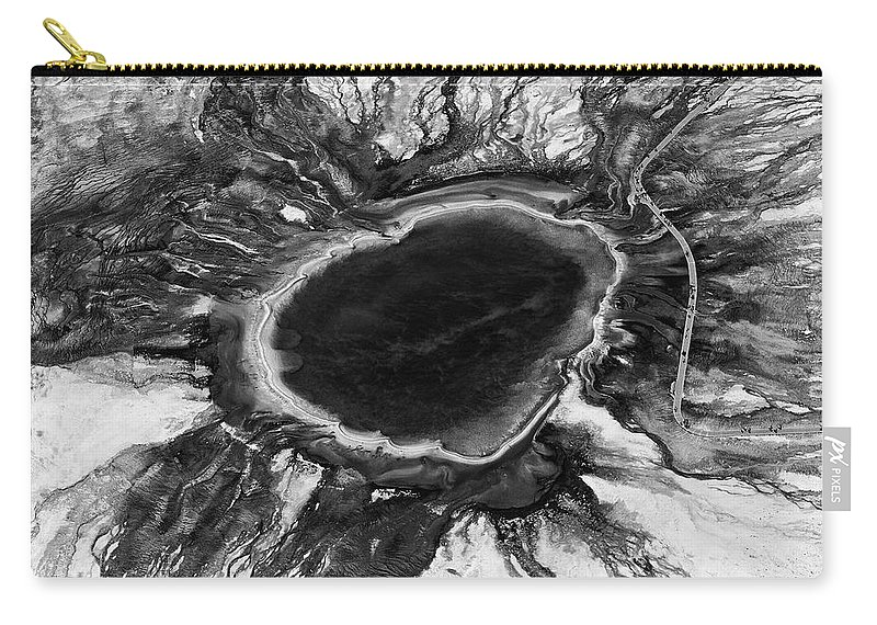 North America Carry-all Pouch featuring the photograph The Black Hole by Max Waugh