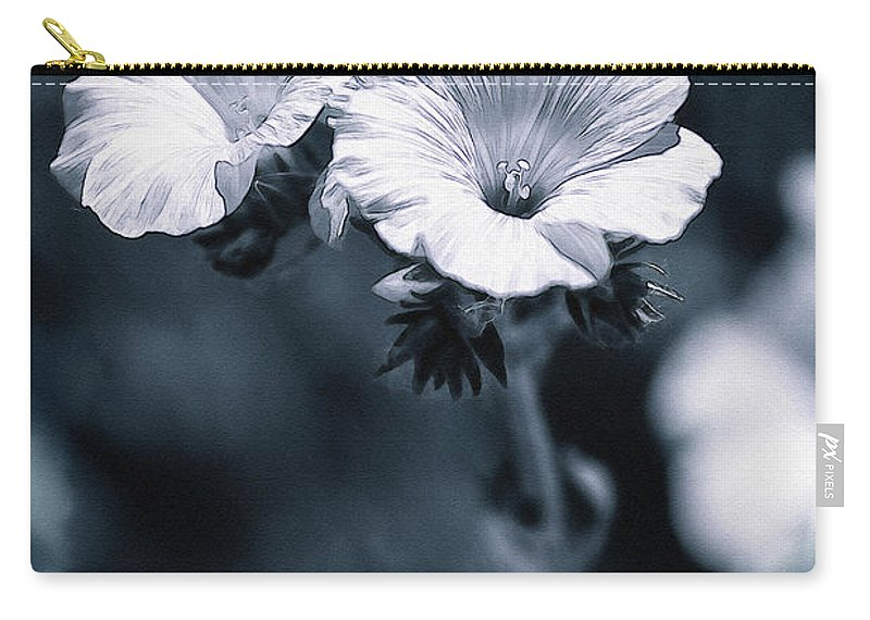 Photography Carry-all Pouch featuring the photograph The Blues by Pati Photography