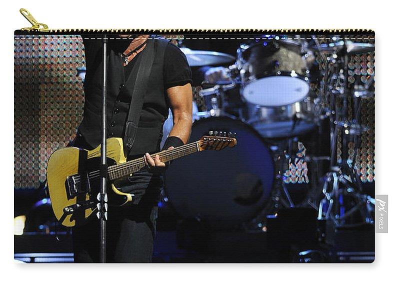 Music Carry-all Pouch featuring the photograph The Boss 29 by Rafa Rivas
