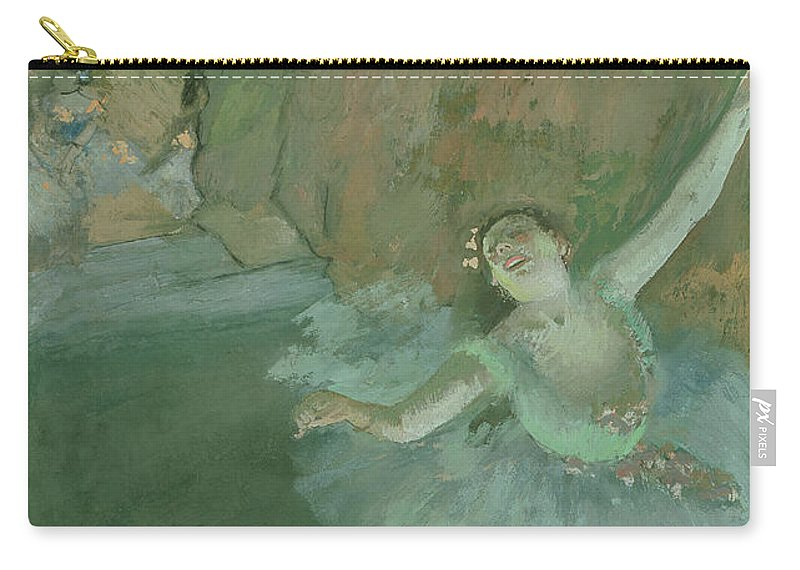 Female Carry-all Pouch featuring the painting The Bow Of The Star by Edgar Degas