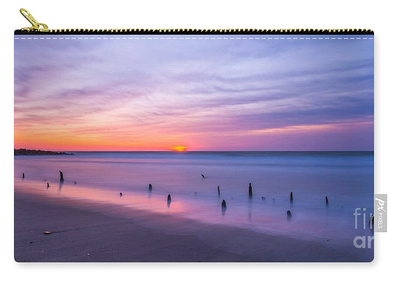 Milky Way Mike Carry-all Pouch featuring the photograph The Breach by Michael Ver Sprill