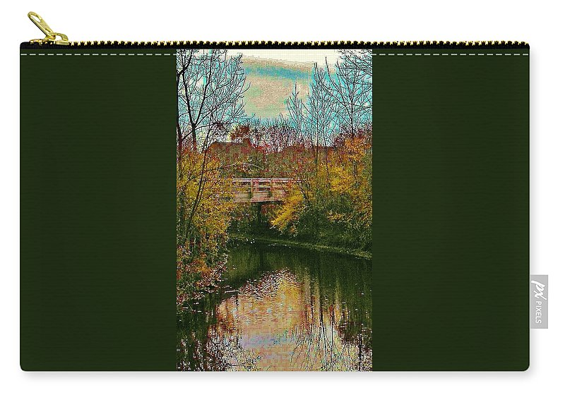 Southgate Carry-all Pouch featuring the photograph The Bridge Between Heaven And Earth by Daniel Thompson