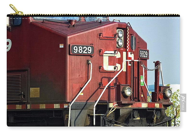 Engine Carry-all Pouch featuring the photograph The Brute by Steve Harrington