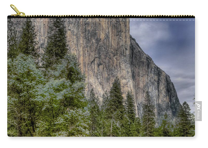 Yosemite Carry-all Pouch featuring the photograph The Captain by Bill Gallagher