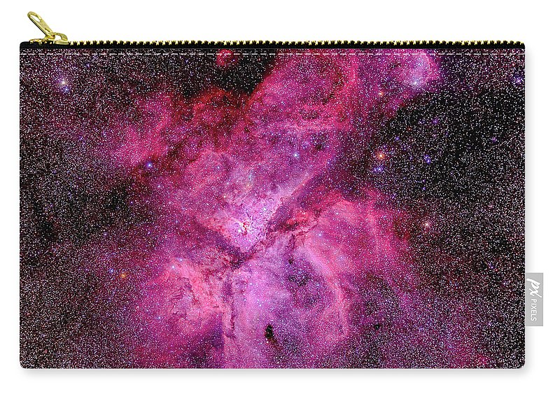 Southern Hemisphere Carry-all Pouch featuring the photograph The Carina Nebula In The Southern Sky by Alan Dyer/stocktrek Images