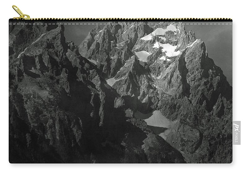 Landscape Carry-all Pouch featuring the photograph The Cathedral Group by Raymond Salani III
