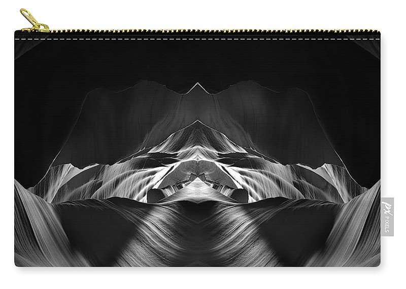 3scape Carry-all Pouch featuring the photograph The Cave by Adam Romanowicz