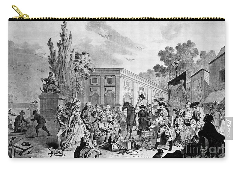 1795 Carry-all Pouch featuring the photograph The Charlatan, C1795 by Granger