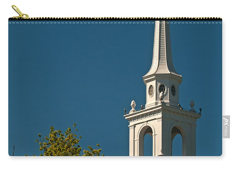 church Of The Redeemer. lexington Carry-all Pouch featuring the photograph The Church Of The Redeemer by Paul Mangold