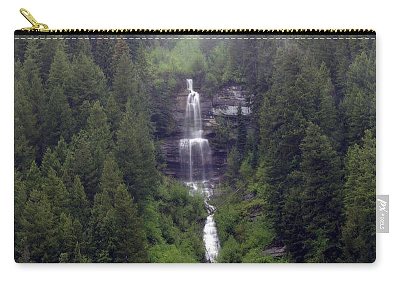 Landscapes Carry-all Pouch featuring the photograph The Chutes by Jeremy Rhoades