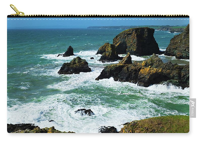 Photography Carry-all Pouch featuring the photograph The Coastline Of The Copper Coast by Panoramic Images