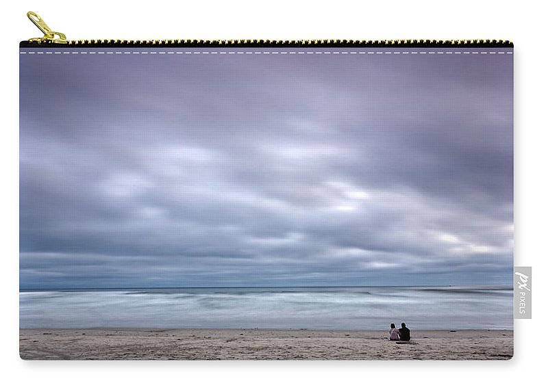 Beach Carry-all Pouch featuring the photograph The Couple by Peter Tellone