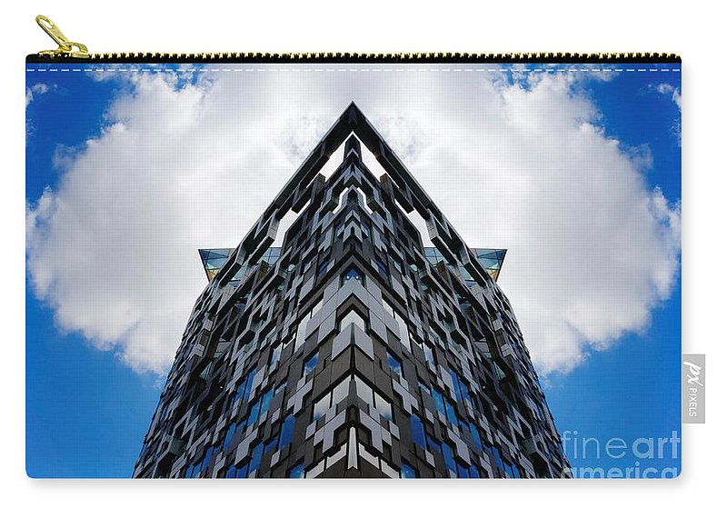 Birmingham Carry-all Pouch featuring the photograph The Cube by Mickey At Rawshutterbug