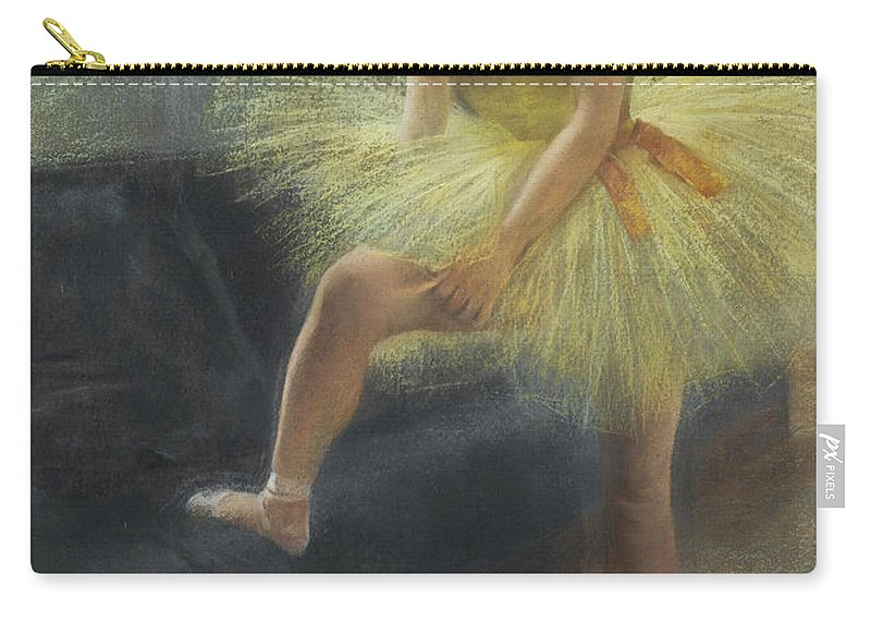 Pierre Carrier-belleuse Carry-all Pouch featuring the painting The Dancer by Pierre Carrier-Belleuse