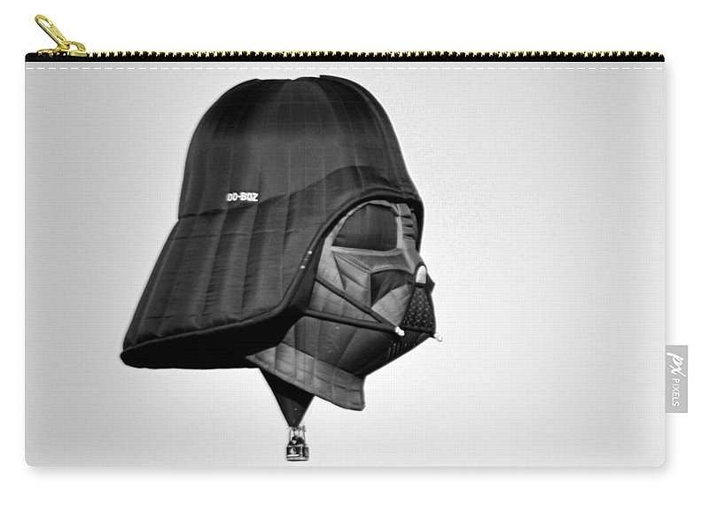 Sports Carry-all Pouch featuring the photograph The Dark Side by AJ Schibig