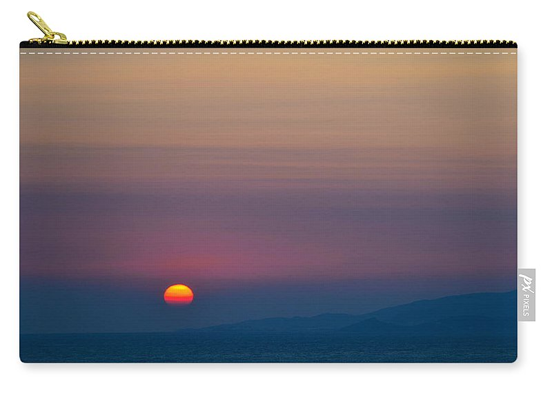 Dark Carry-all Pouch featuring the photograph The Darker Side by Corinne Rhode