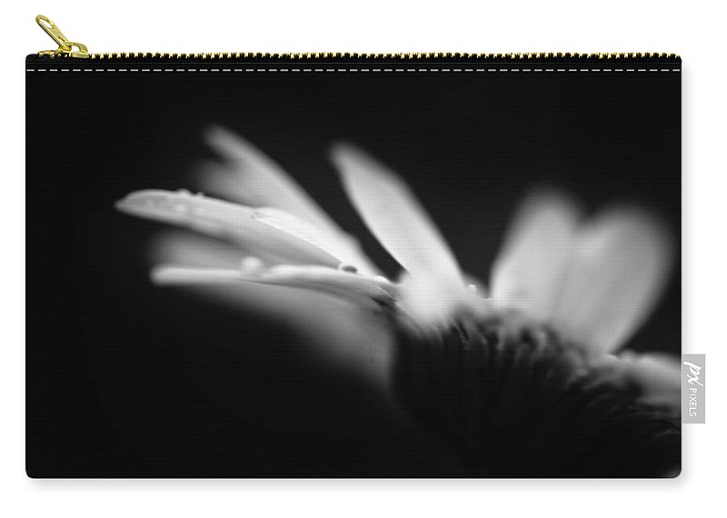 Flower Carry-all Pouch featuring the photograph The Delicate Crash Of A Wave by Shane Holsclaw