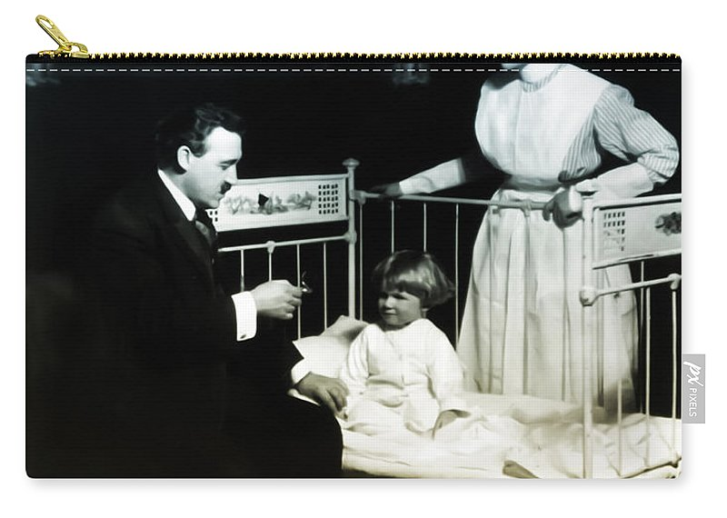 Doctor Carry-all Pouch featuring the photograph The Doctor by Bill Cannon