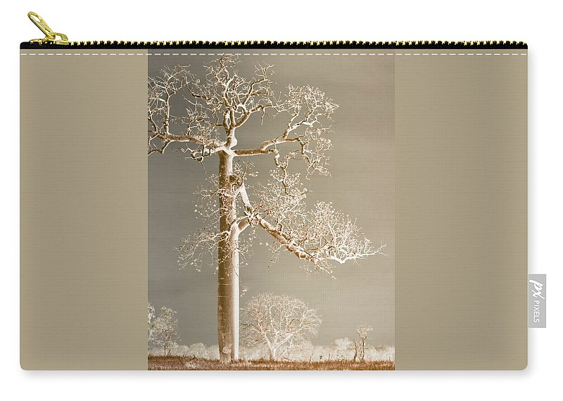 Landscapes Carry-all Pouch featuring the photograph The Dreaming Tree by Holly Kempe
