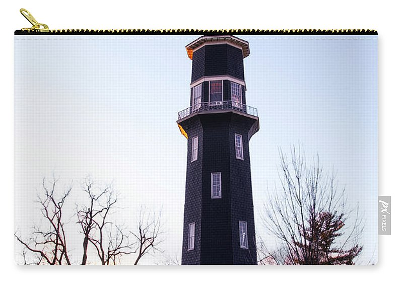 Windmill Carry-all Pouch featuring the photograph The Dwight Windmill by Thomas Woolworth