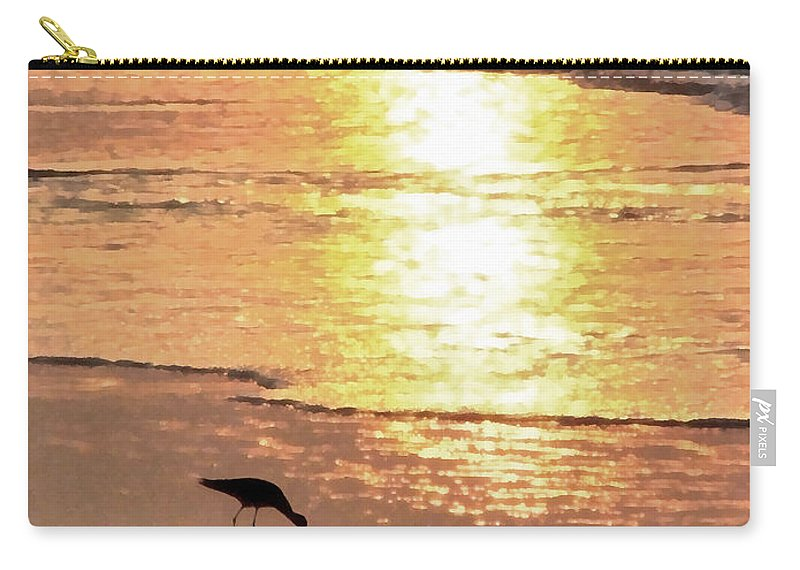 Landscape Carry-all Pouch featuring the photograph The Early Bird by Todd A Blanchard