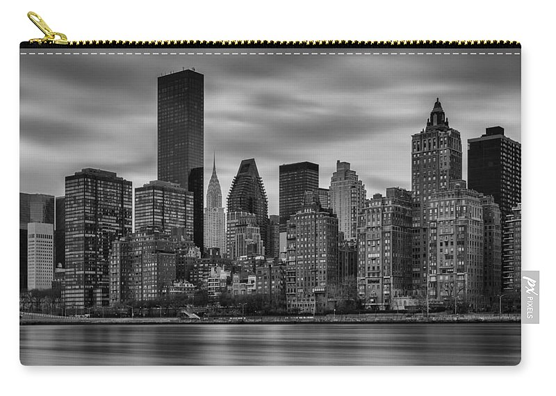 Chrysler Carry-all Pouch featuring the photograph The East Side by Rick Berk