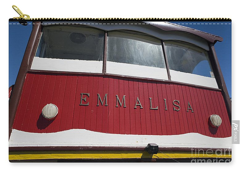 Travel Carry-all Pouch featuring the photograph The Emmalisa by Jason O Watson