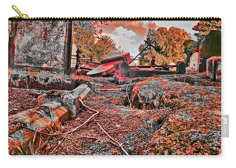 End Of Days Carry-all Pouch featuring the photograph The End by Steve Taylor