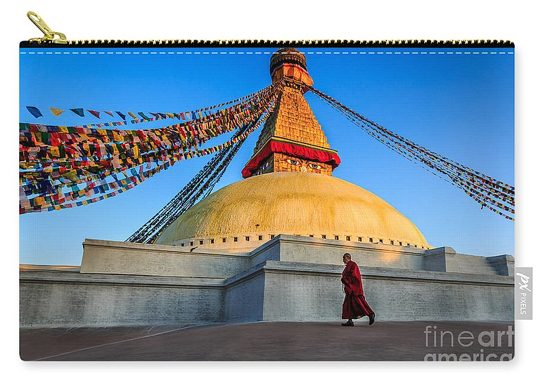 Nepal Carry-all Pouch featuring the photograph The Endless Search For Eternity by Kim Petersen