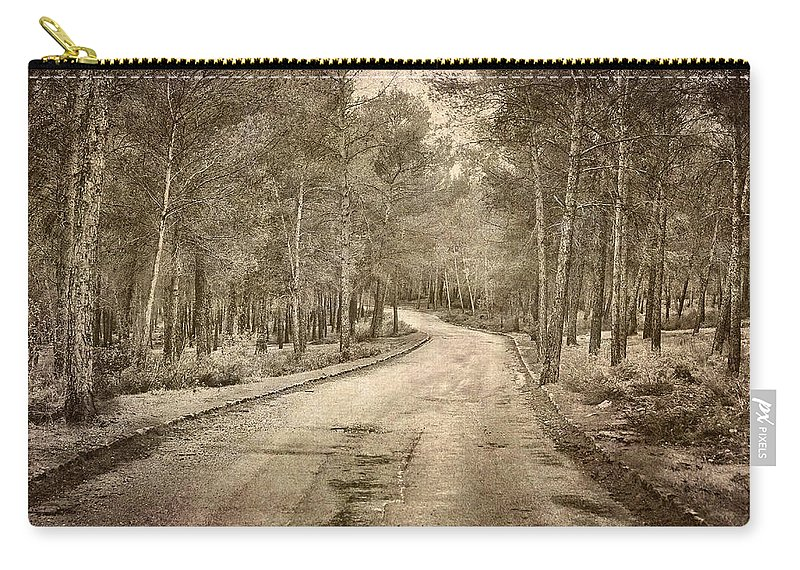 Landscapes Carry-all Pouch featuring the photograph The Entrance Of The Great Forest by Guido Montanes Castillo