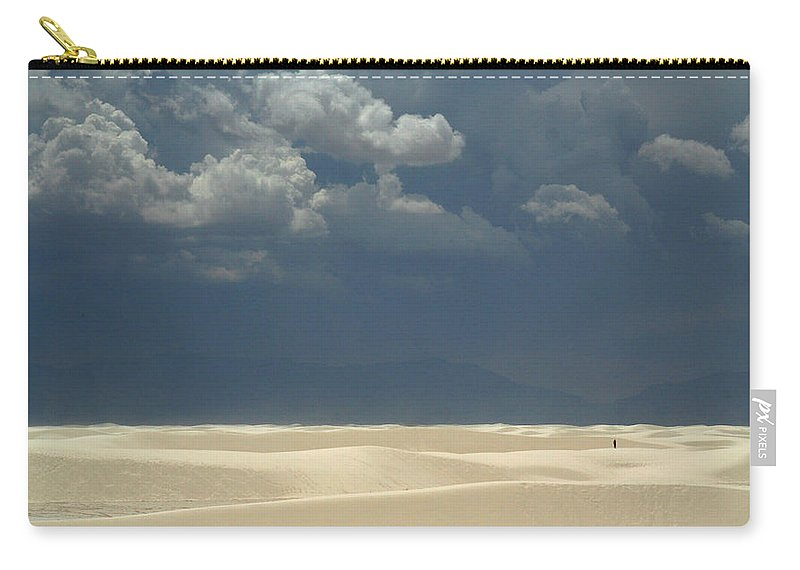 Biblical Carry-all Pouch featuring the photograph The Expulsion by Joe Kozlowski