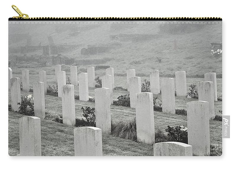 Uk Carry-all Pouch featuring the photograph The Fallen by Christopher Rees