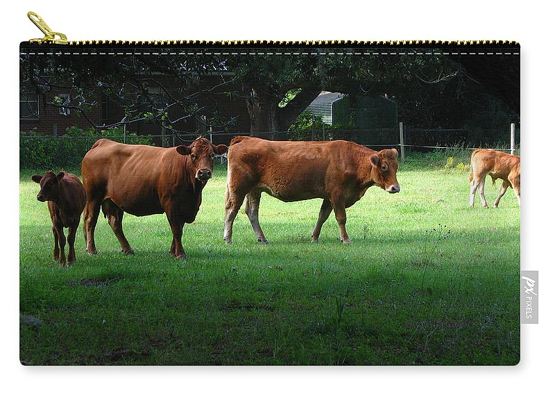 Patzer Carry-all Pouch featuring the photograph The Farm by Greg Patzer