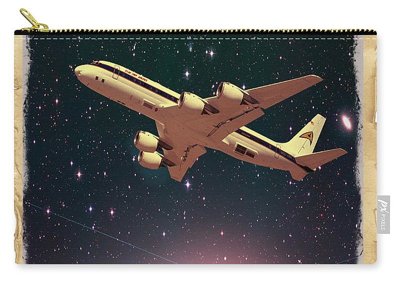 Advertisement Carry-all Pouch featuring the photograph The Final Frontier by Juli Scalzi