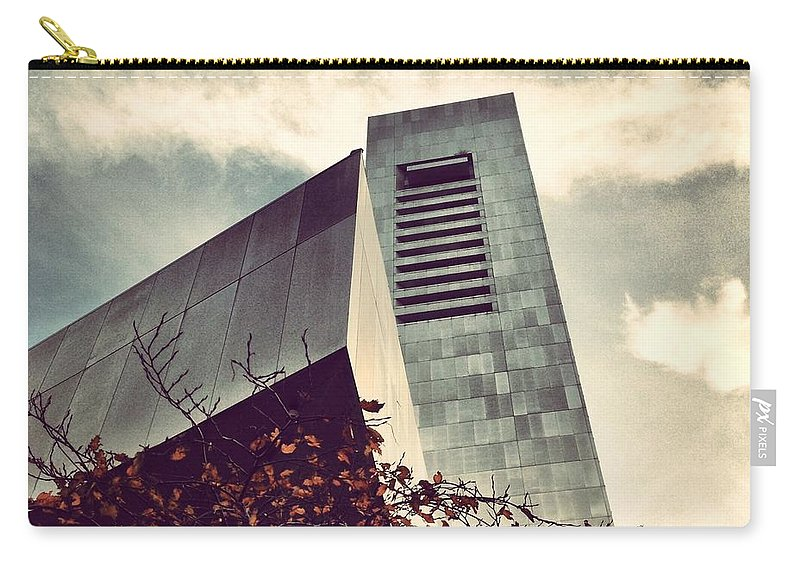 Federal Reserve Carry-all Pouch featuring the photograph The Financial Church Of Boston by Mark Valentine