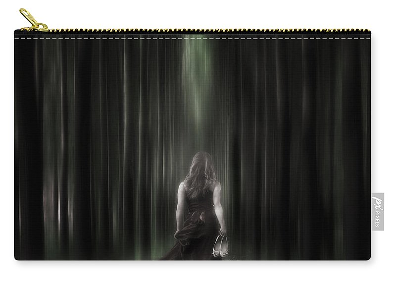 Woman Carry-all Pouch featuring the photograph The Forest by Joana Kruse