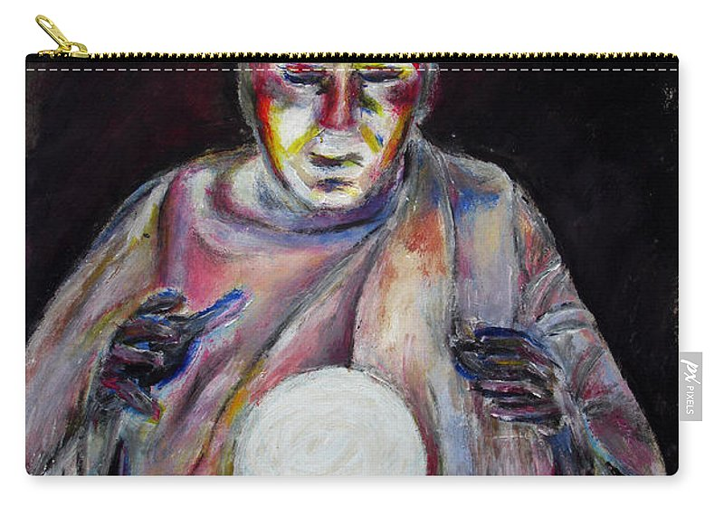 Fortune Tellers Carry-all Pouch featuring the painting The Fortune Teller by Tom Conway