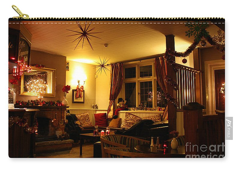 Inn Carry-all Pouch featuring the photograph The George Inn Middle Wallop by Terri Waters