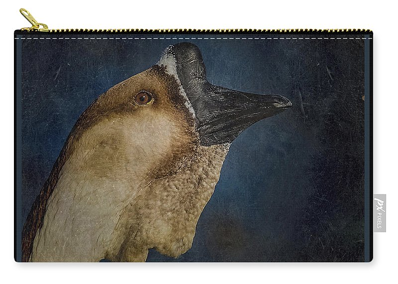 Birds Carry-all Pouch featuring the photograph The Goose by Ernie Echols