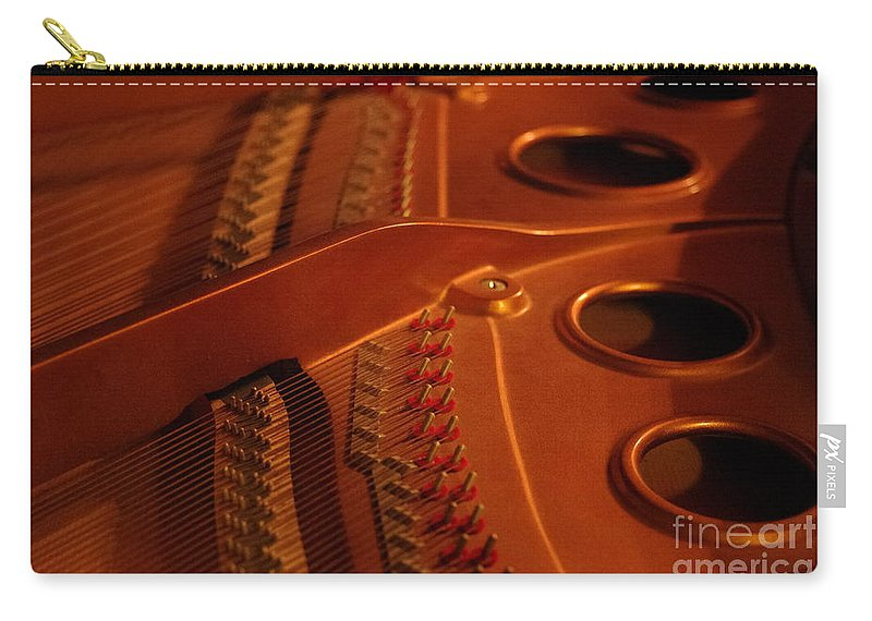 Piano Carry-all Pouch featuring the photograph The Grand by Kitrina Arbuckle
