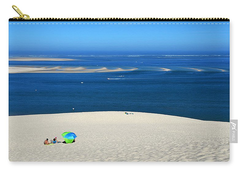 Dune Carry-all Pouch featuring the photograph The Great Dune Of Pila In Arcachon Bay by RicardMN Photography