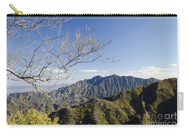 China Landscape Carry-all Pouch featuring the photograph The Great Wall 834 by Terri Winkler