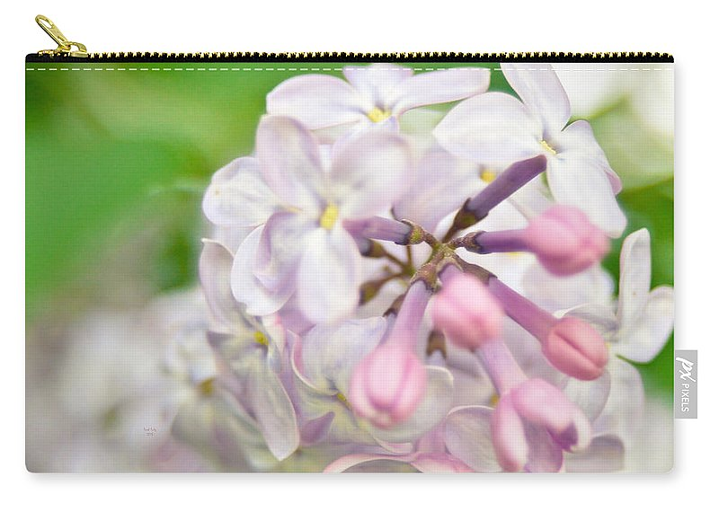 Flower Carry-all Pouch featuring the mixed media The Greatest Love Of All by Trish Tritz