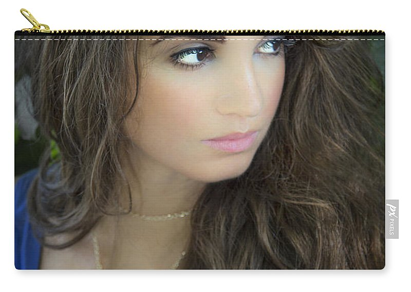 Beautiful Carry-all Pouch featuring the photograph The Greek Goddess by Evelina Kremsdorf